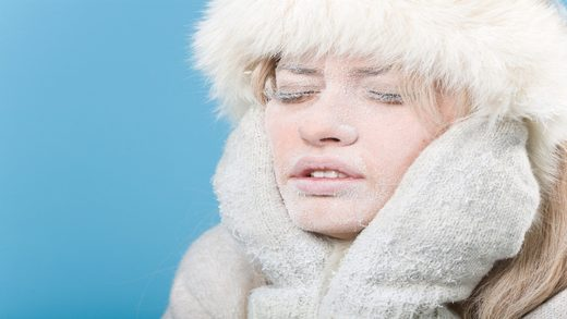 cold sickness, frostbite, global cooling