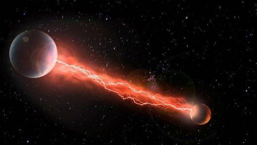 Mars earth plasma discharge