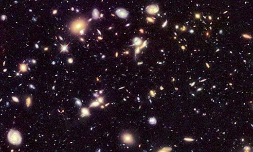 Galaxies in space