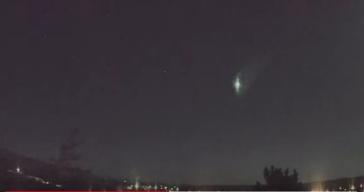 Fireball over Glenns Ferry, ID