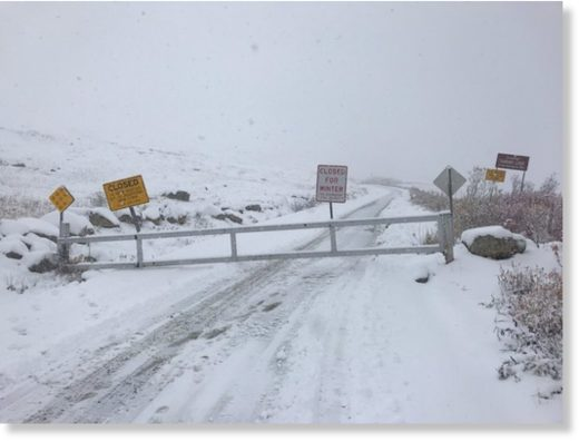 Hatcher Pass was hit by its first significant snow storm! The road over the summit has been closed for the season