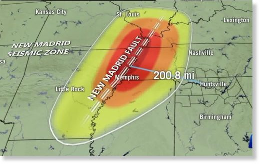 new madrid fault zone