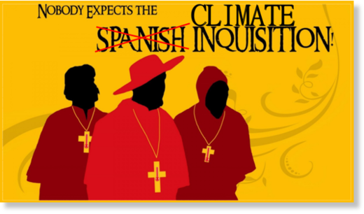The Climate Inquisition