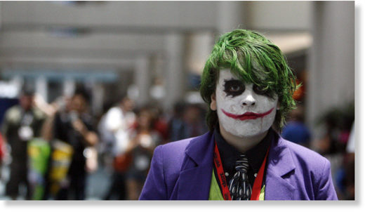 'Why so serious?' indeed...