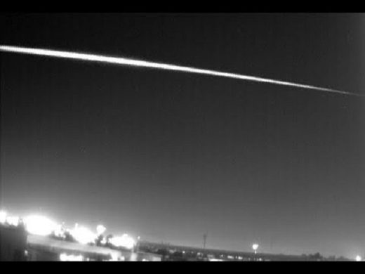 Fireball over Portugal