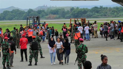 Indonesia Papua residents violence airport