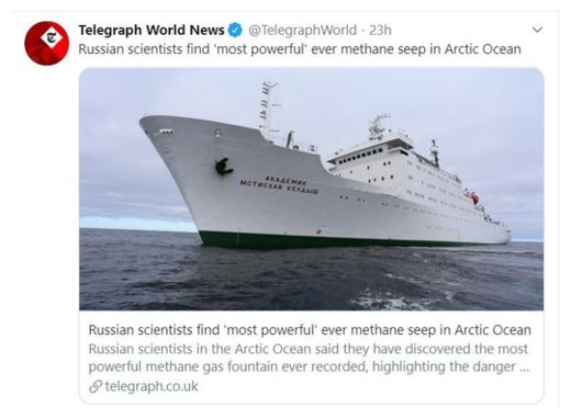 Russian Research Ship