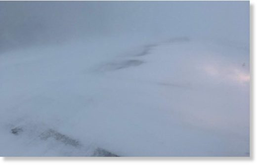 The North Dakota Highway Patrol posted a photo from 8 a.m. Friday showing road conditions on Hwy 20 2 miles south of Devils Lake.