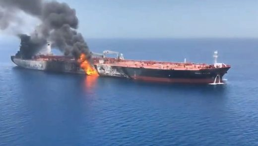 iranian oil tanker red sea