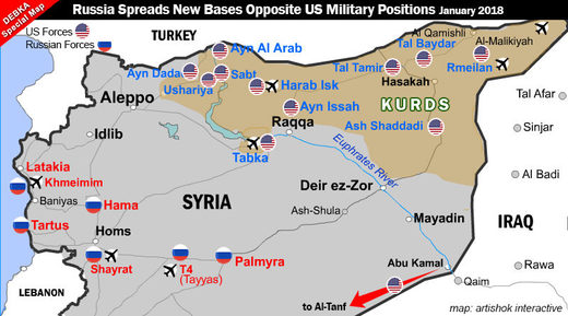 US  military bases syria