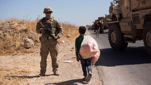 US soldiers syria