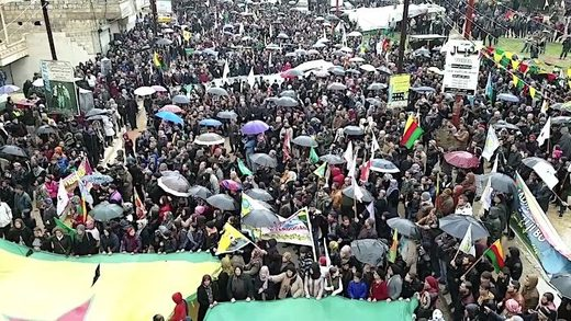 Afrin demonstration
