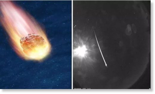 Meteor shock: NASA footage shows huge explosion in skies above Arizona