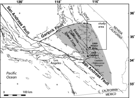 garlock fault earthquake California