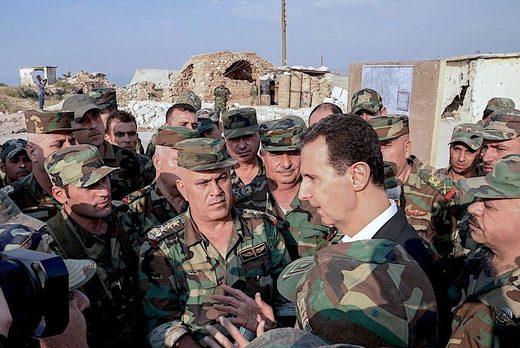 Assad and GroupTroops
