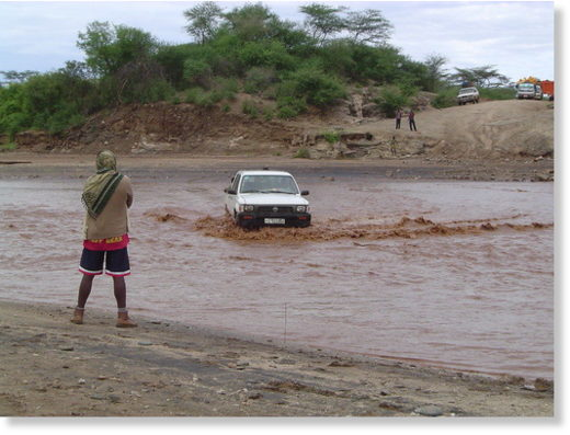 File photo for illustration. Floods in Ethiopia, 2006