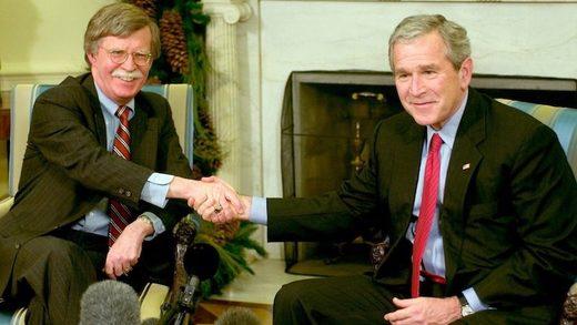 GW Bush & John Bolton