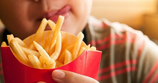childhood obesity fast food fries