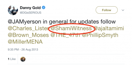 danny gold vice shamiwitness twitter isis
