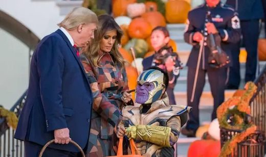 Trump Ivanka Thanos