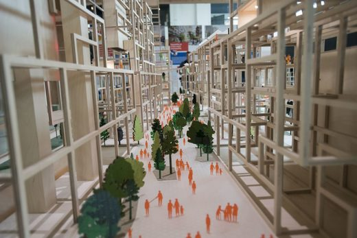 Toronto Sidewalk Labs model