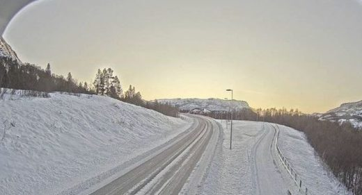 Snow in Norway