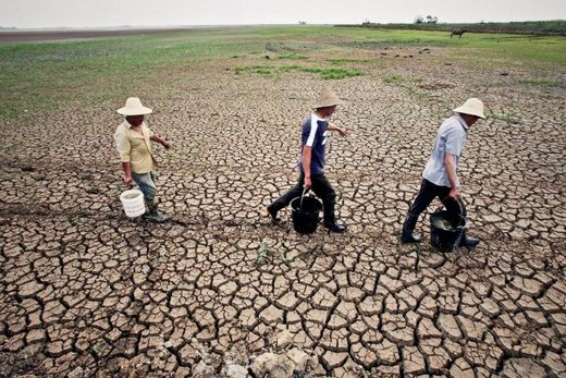 china drought