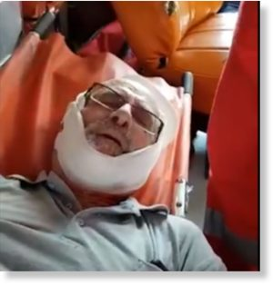 80-year-old Israeli Rabbi beaten by right-wing Israeli settlers for trying to protect Palestinian farmers