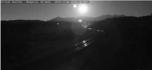 Fireball over SoCal
