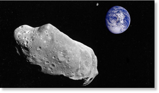 Asteroid due to speed past Earth today will come almost as close as the moon