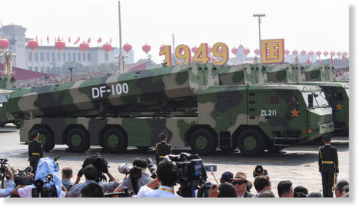 Top Chinese diplomat: Our mid-range missiles don't pose threat to Washington… UNLESS it moves its missiles 'too close'