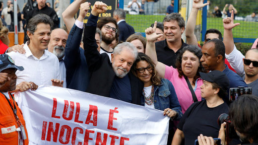 Brazilian court frees former president Lula da Silva from prison until his appeal process ends