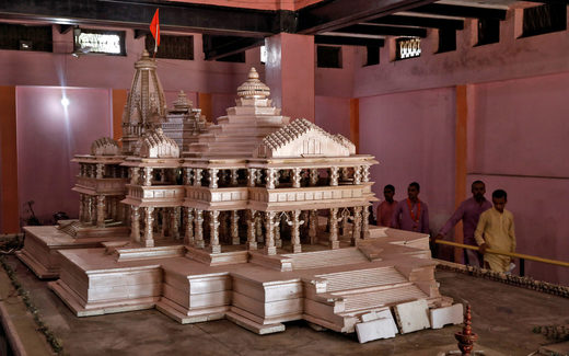 Proposed Ram Temple Model