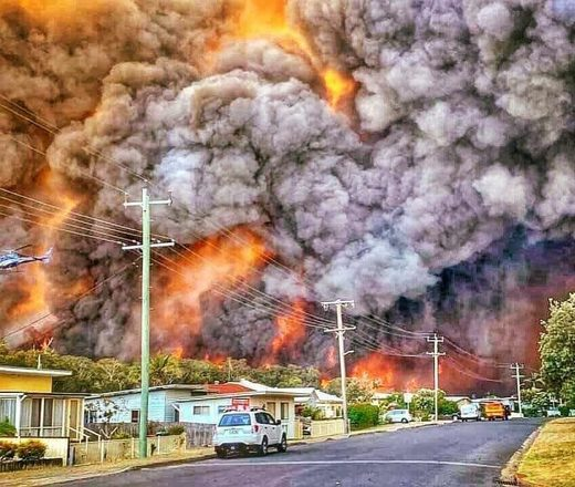 FLASHBACK: Too much fuel causes extreme bush fires, not climate change