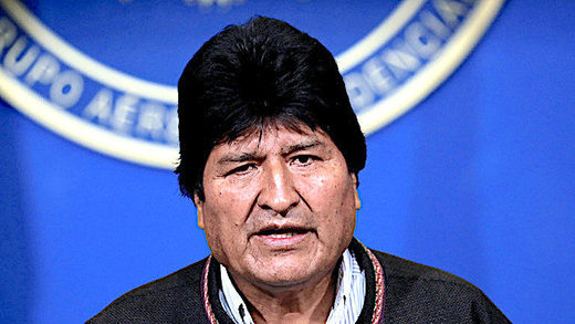 BEST OF THE WEB: US 'coup d'état': Bolivian President Evo Morales announces his resignation, UPDATES