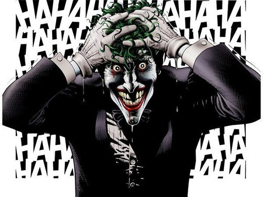 joker insane laughter