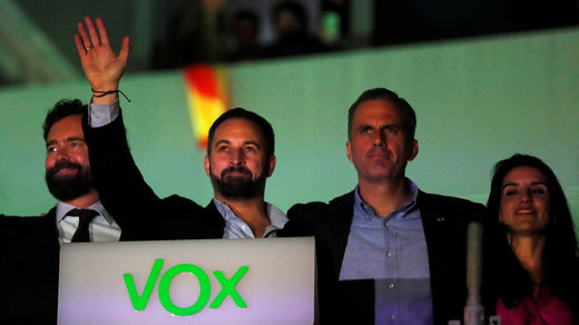 Spain elections Vox Abascal