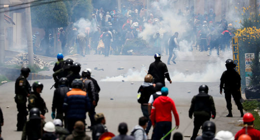 Mexico condemns coup in Bolivia, slams OAS over inaction