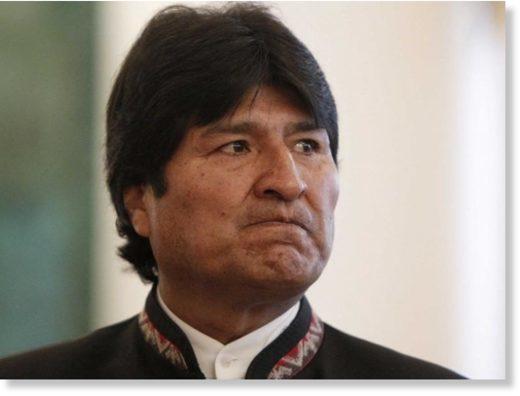 Evo Morales resigned