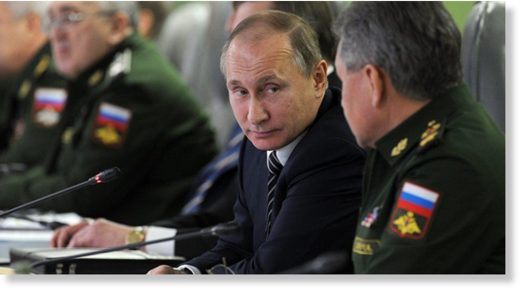 Putin explains why Russia can afford to spend less on defense