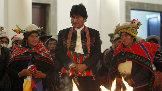 FLASHBACK: Bolivia's President Evo Morales declares 'total independence' from World Bank and IMF