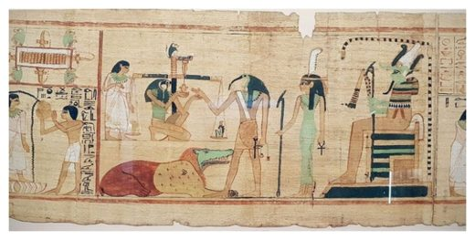 Egyptian Book of the Dead Depiction