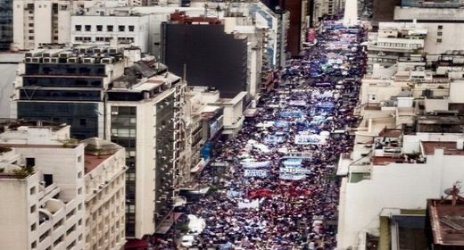'Viva Morales': Massive march in Buenos Aires mobilizes against coup in Bolivia