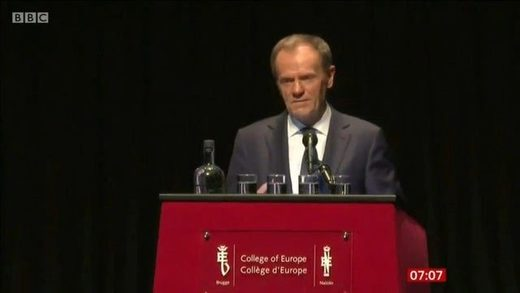 """Longing for the empire"": Outgoing EU council chief Tusk encourages remainers to block Brexit, maligns Russia"