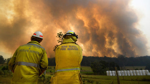 9yo child admits to arson as dozens of wildfires ravage southeast Australia