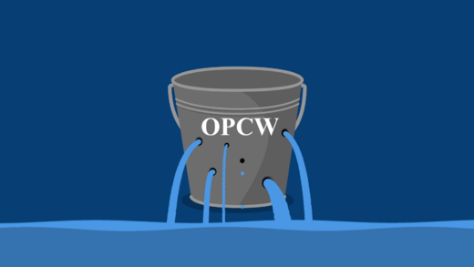 OPCW leaking bucket
