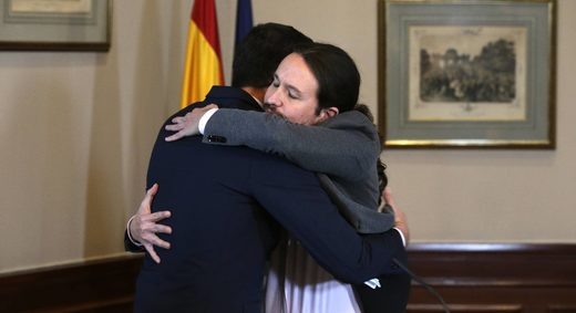 spain coalition iglesias sanchez