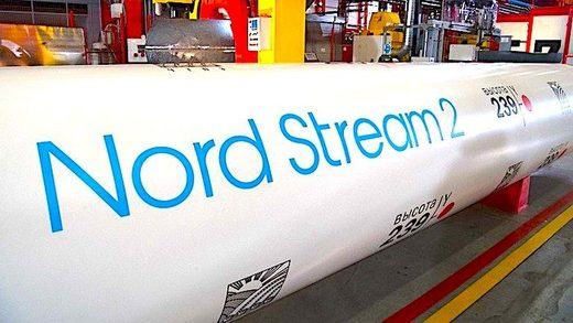 Nord Stream 2 pipe