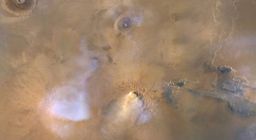 Mars dust tower