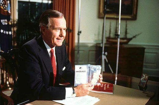 George H. Walker Bush: The Bush family and the Mexican drug cartel